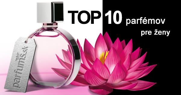 10 najpredávanejších parfémov pre ženy