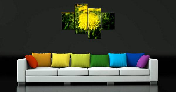 Aké obrazy sa hodia do obývačky a spálne?