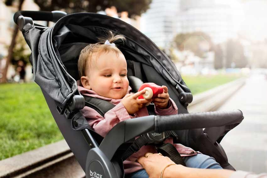 Doprajte svoju dieťatku maximálny luxus vkočíku Britax Römer