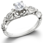 Ako nosiť diamantový prsteň