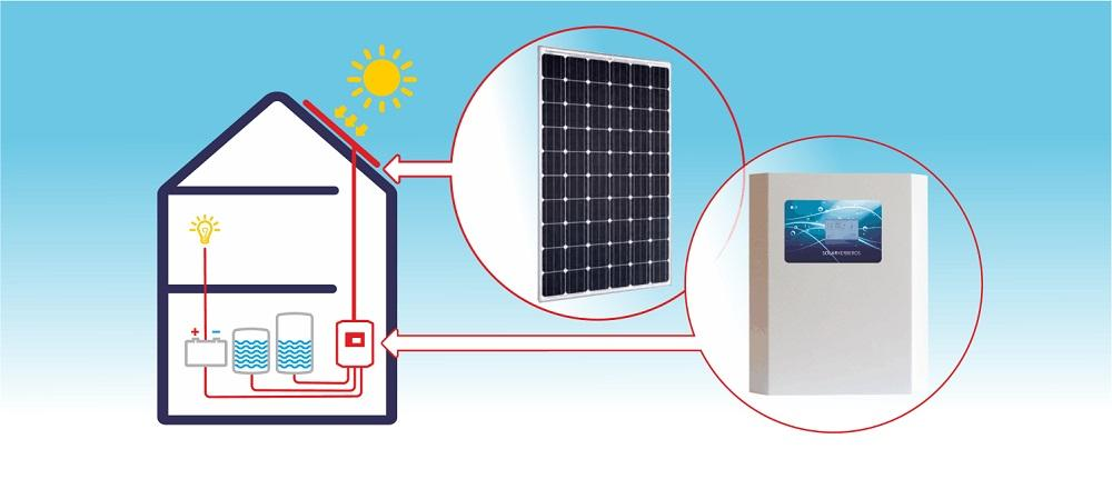 Fotovoltaický systém na ohrev vody
